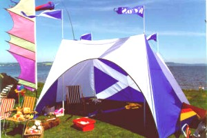 Club Tent, by Peter Hall